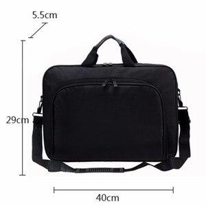 Image 1 - VODOOL bolsa para ordenador portátil, bolso de negocios de nailon, con cremallera, para hombro, alta calidad