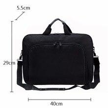 VODOOL torba na laptopa torba na komputer biznes przenośne nylonowe torebki komputerowe Zipper ramię Laptop torebka na ramię wysokiej jakości