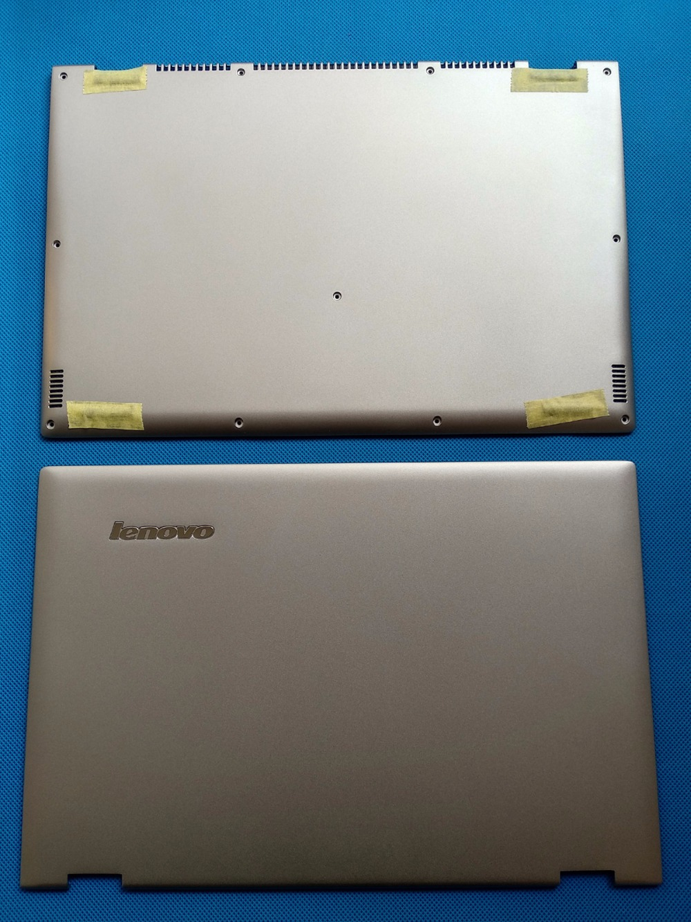 New Original Lenovo Ideapad Yoga 2 Pro 13 LCD Back Rear Lid Cover+ Base Cover Bottom Lower Case AM0S9000310 AM0S9000210 silvery new for lenovo ideapad yoga 13 bottom chassis cover lower case base shell orange w speaker l