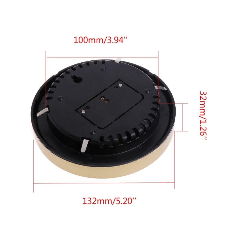 Image 2 - 5 インチバロメーター温度計湿度計ウォールマウント家庭用ウェザーステーション温度計湿度計    グループ上の ツール からの 圧力ゲージ の中
