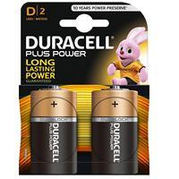 Pilas Duracell bateria original Alcalina Tipo D LR20 en blister 2X Unidades|Primary & Dry Batteries| |  -