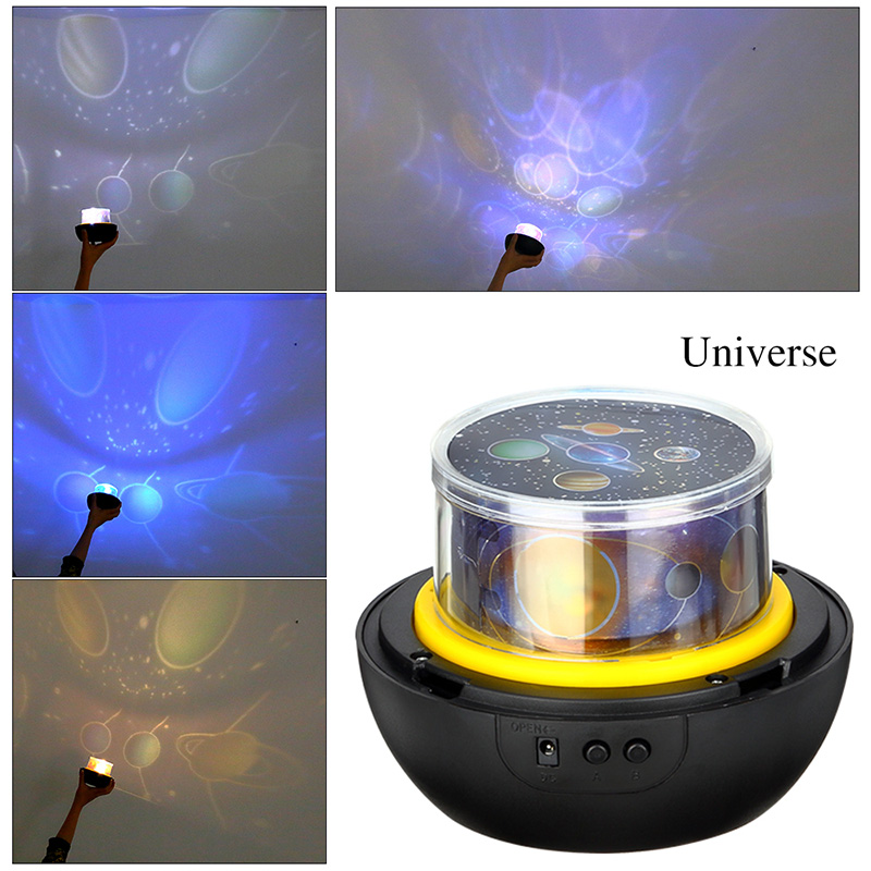 HTB1iivCXb5YBuNjSspoq6zeNFXaI LED Night Light Starry Sky Magic Star Moon Planet Projector Lamp Cosmos Universe Luminaria Baby Nursery Light For Birthday Gift