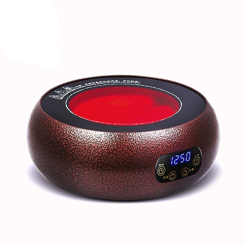 Hot Plates Light wave tea furnace iron pot electric ceramic stove household mini induction high power boilin cukyi automatic electric slow cookers purple sand household pot high quality steam stew ceramic pot 4l capacity