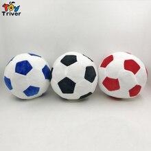 все цены на 15cm Soccer Ball Plush Sport Toy World Football Fan Memorable Stuffed Doll Baby Kids Boy Boyfriend Birthday GIft Decor онлайн