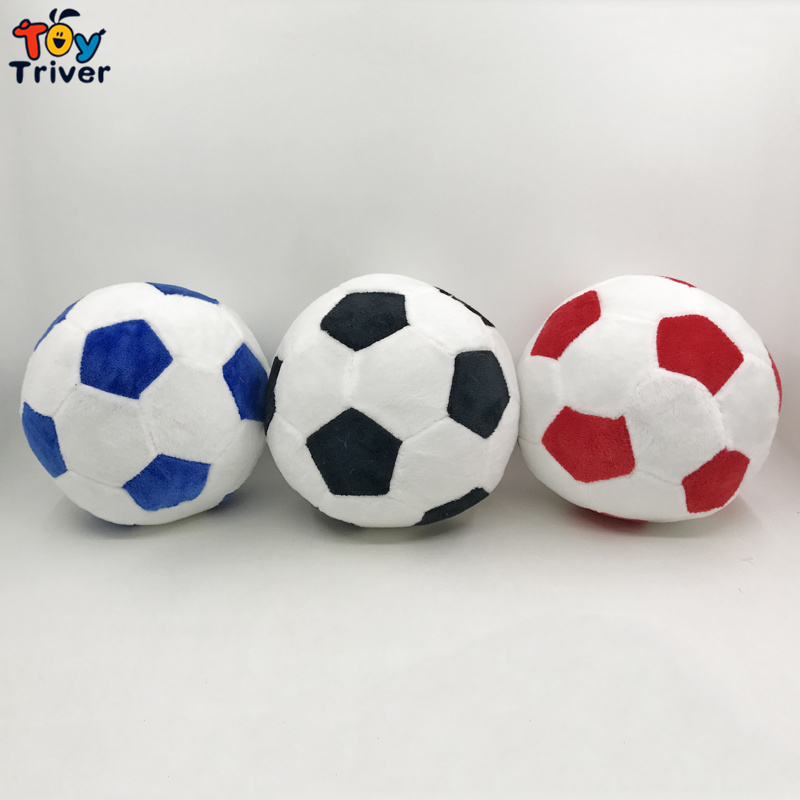 15cm Soccer Ball Plush Sport Toy World Football Fan Memorable Stuffed Doll Baby Kids Boy Boyfriend Birthday GIft Decor