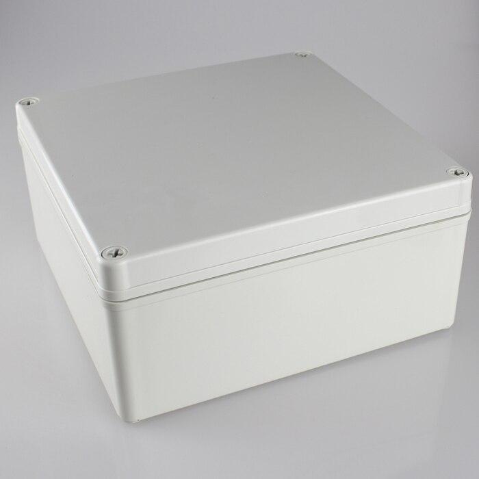 200 200 95MM IP67 Waterproof Plastic Electronic Project Box w Fix Hanger Plastic Waterproof Enclosure Box