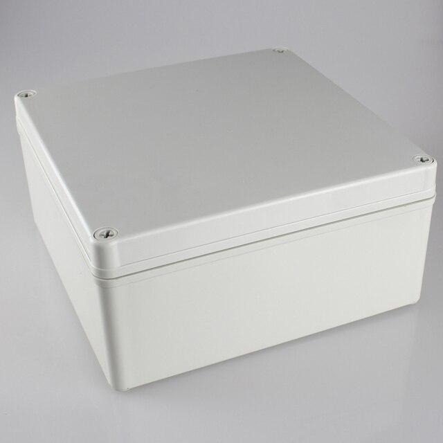 200*200*95MM IP67 Waterproof Plastic Electronic Project Box w/ Fix Hanger Plastic Waterproof Enclosure Box Housing Meter Box