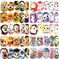 12 Sheets Animal Lovely Cat Dog Birds Designs Nail Art Water Transfer Stickers Decal A1273-84