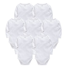 Baby Bodysuits Cotton Newborn Blank Long Sleeve 0-24 Months Boy White Body Bebes Blanco Roupa Menina Baby Girl Clothing baby girl clothes 2016 spring fashion newborn baby girls clothes set 3 24m cotton full sleeve clothing roupa de bebes menina