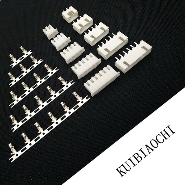 XH2.54 wire Connector XH 2.54mm 180 angle straight pin Header + Housing + Terminal for PCB Car 2P 3P 4P 5P 6P 7P 8P 9P 10P 11P