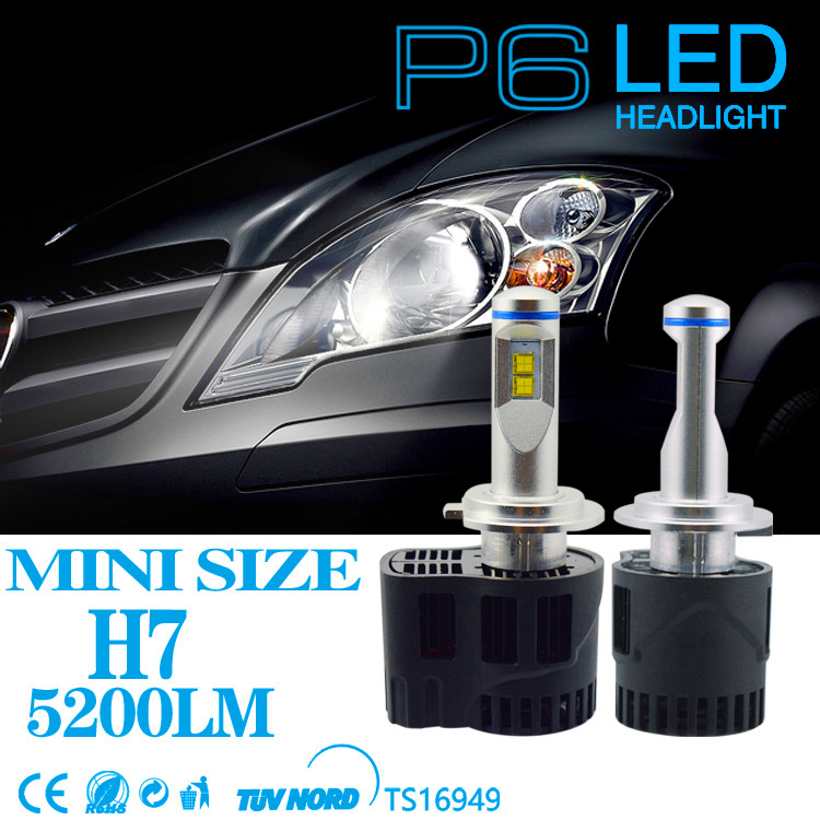 Led Headlight H7 55W 5200LM MZ Car Headlight Conversion Canbus Kit 3000K 5000K 6000K Free Shipping Replacement Headlamp Kits 2pcs canbus error free 55w 5200lm bulb d1 d2 d3 d4 car led headlight bulbs conversion kit super bright auto headlamp 5000k 6000k