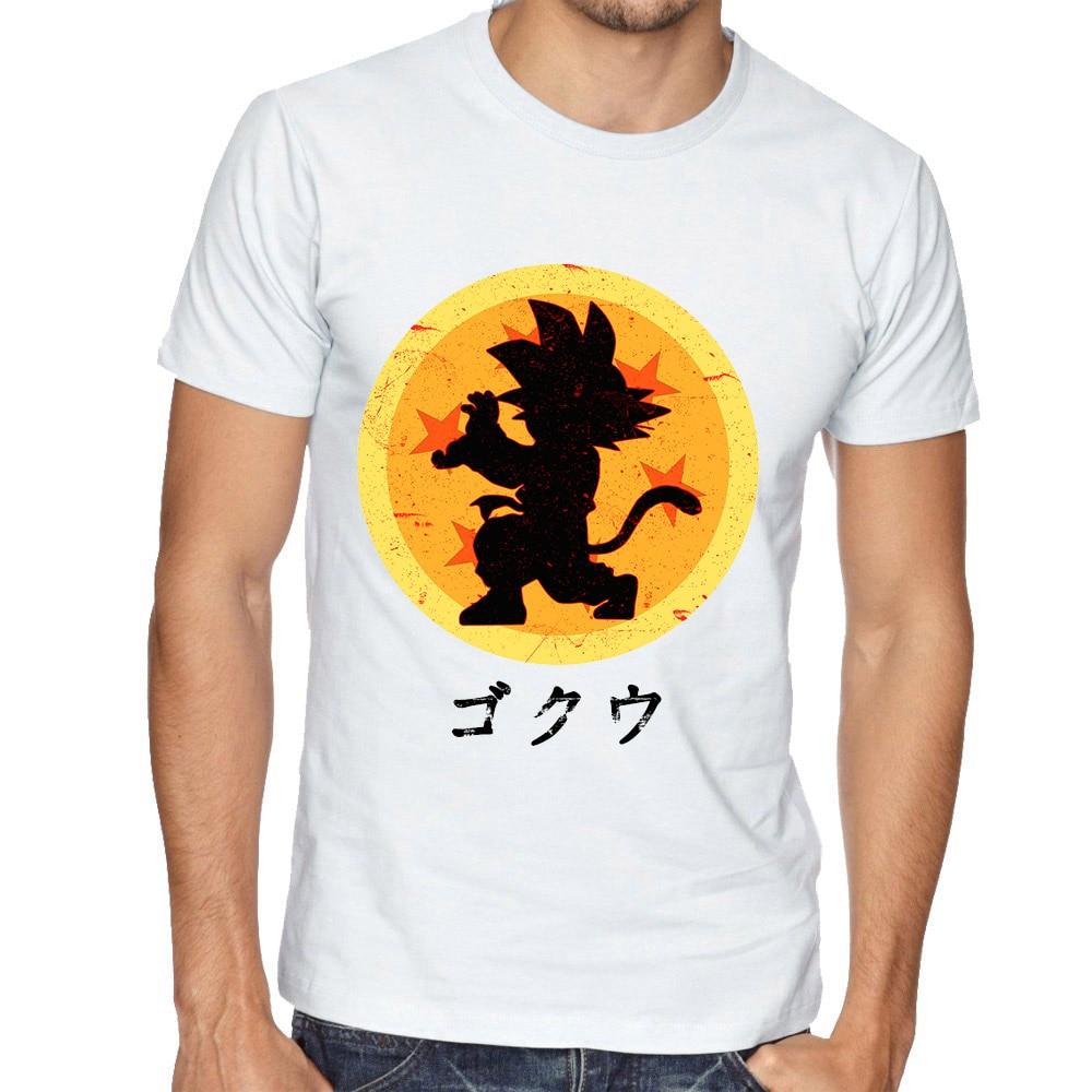 fashion men dragon ball z vegeta son goku printed t shirt. Black Bedroom Furniture Sets. Home Design Ideas