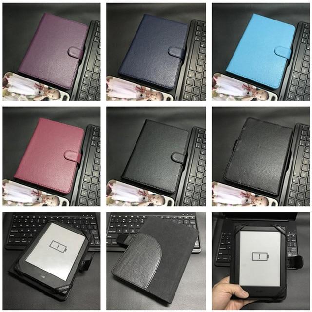 HISTERS cubierta protectora para Kindle/Sony/Digma/DEXP/Boox/BQ/Kobo/bolso 6 pulgadas eBook eReader caso magnético Funda Capa