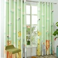 Cartoon Kids room window curtains for baby room children baby curtains for living room corina