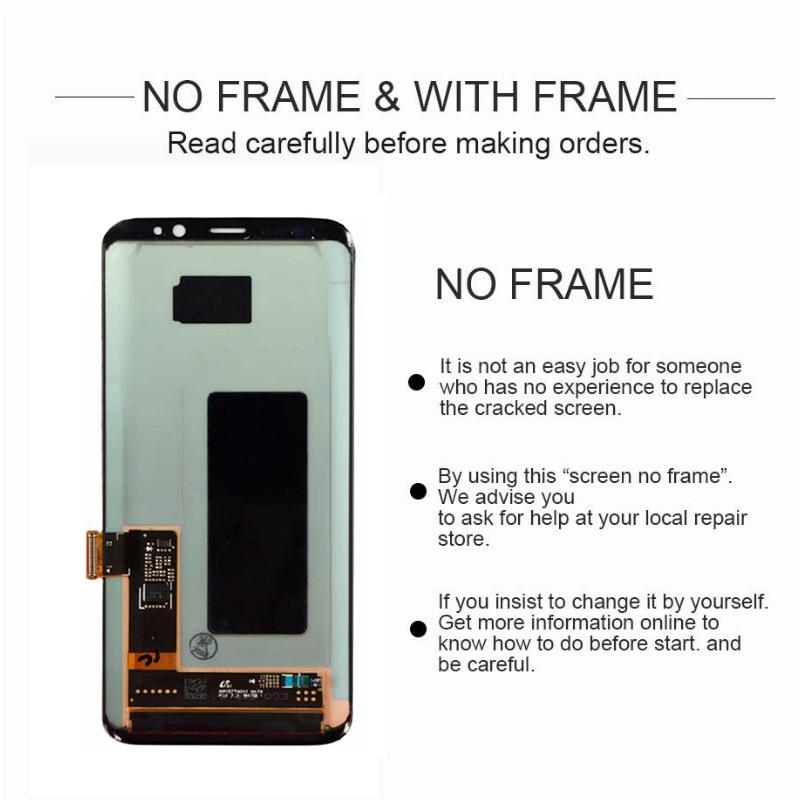 ORIGINAL AMOLED Screen for SAMSUNG Galaxy S9 Lcd Screen S9plus LCD Screen G960 G965 Touch Screen ORIGINAL AMOLED Screen for SAMSUNG Galaxy S9 Lcd Screen S9plus LCD Screen G960 G965 Touch Screen Digitizer