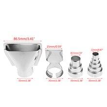 4Pcs Heat Gun Air Nozzles Electric Kit Accessories Industrial Tools Shrink Wrap Nov2-A
