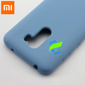 Image 5 - Xiaomi PocoPhone F1 Case Liquid Silicone Protective Case For XIAOMI PocoPhone F1 Poco Silicone Slim Luxury Back Cover Case