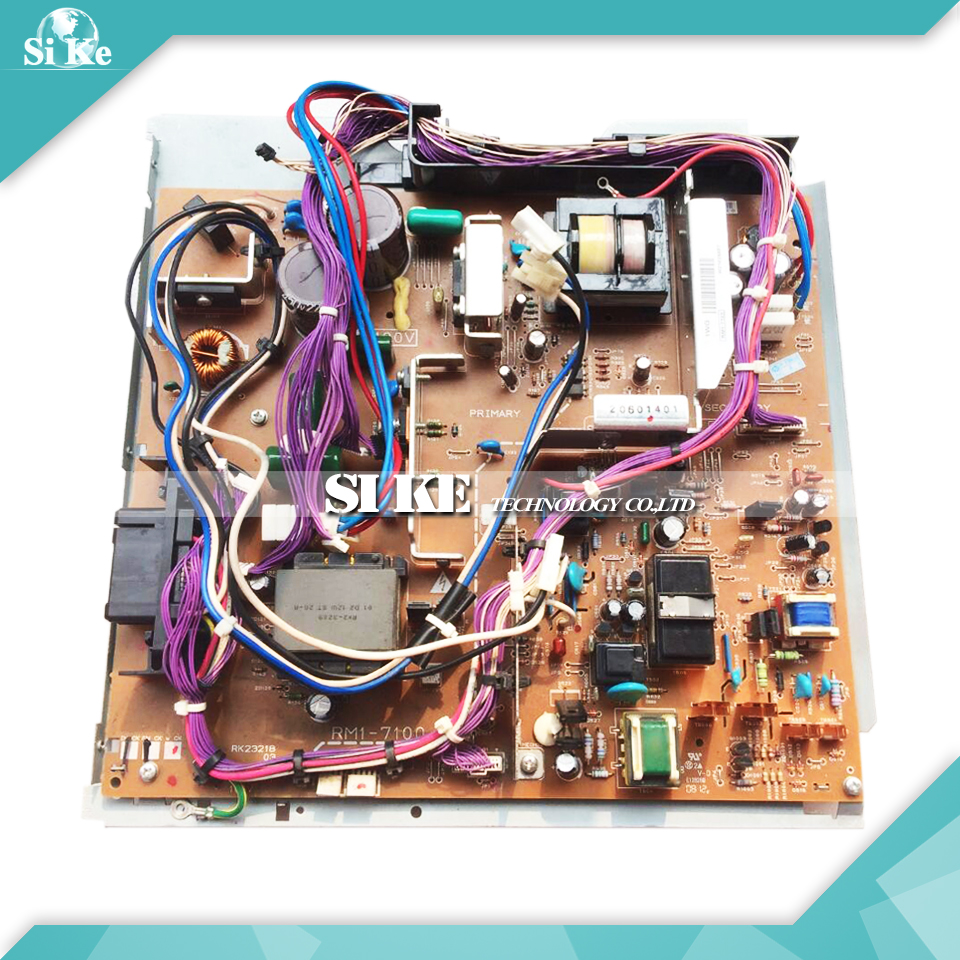 LaserJet Engine Control Power Board For HP M4555 4555 MFP RM1-7100 RM1-7101 HP4555 Voltage Power Supply Board 2420 2400 power supply board rm1 1415