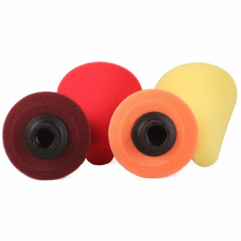 bda557ec336 Espuma de polimento Almofada de Lustro da Esponja Almofadas de Polimento  Para O Cubo Da Roda Do Carro Cone M14 em Almofadas de polimento de  Ferramentas no ...