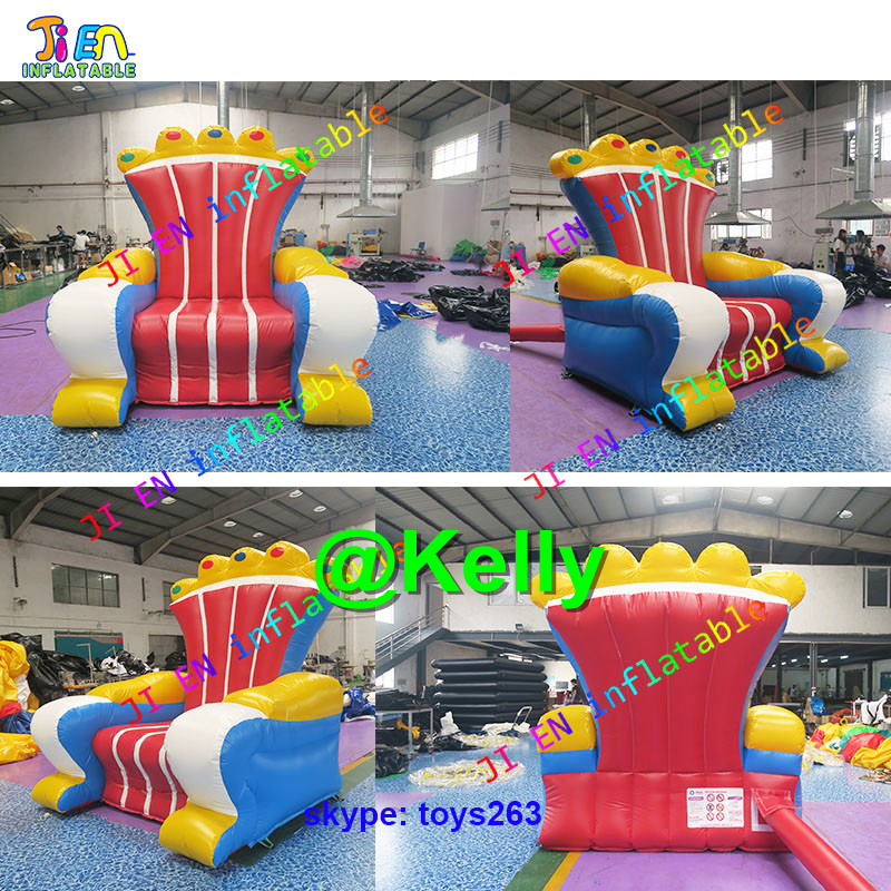 Inflatable Kids Birthday Chair: Free Shipping King Throne Inflatable Chair/ Inflatable