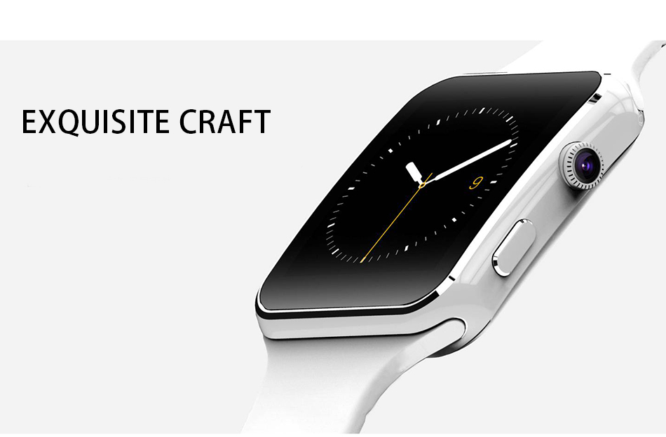 New Arrival X6 Smart Watch with Camera Touch Screen Support SIM TF Card Bluetooth Smartwatch for iPhone Xiaomi Android Phone 18