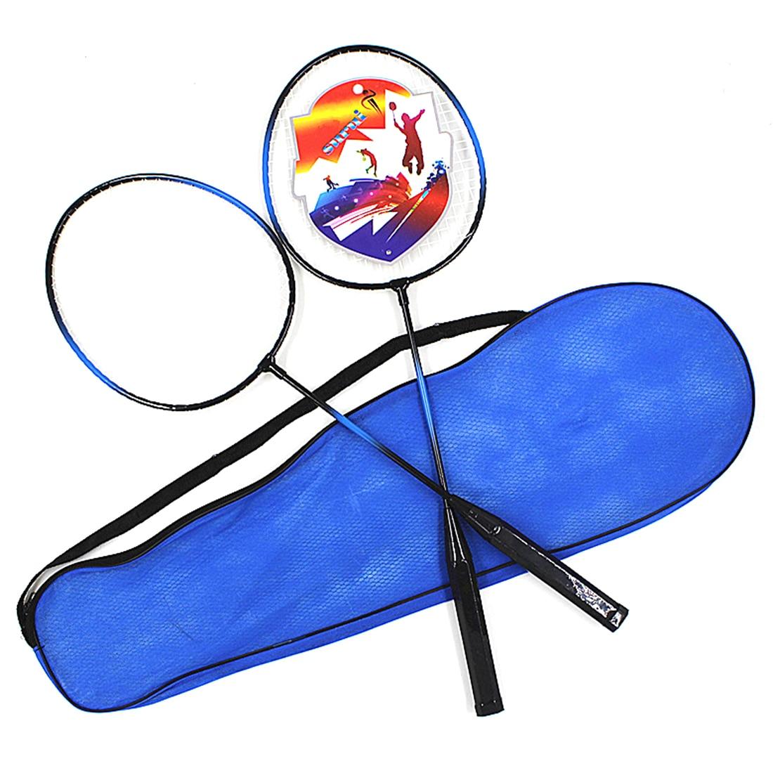 2 Player Badminton Racket Set for Outdoor Games
