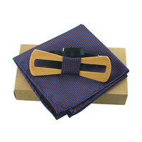 Mantieqingway Wooden Bowties Groom Normal Mens Wood Hollow Cravat Gift For Men Cravate Male Marriage Wedding Bow Tie