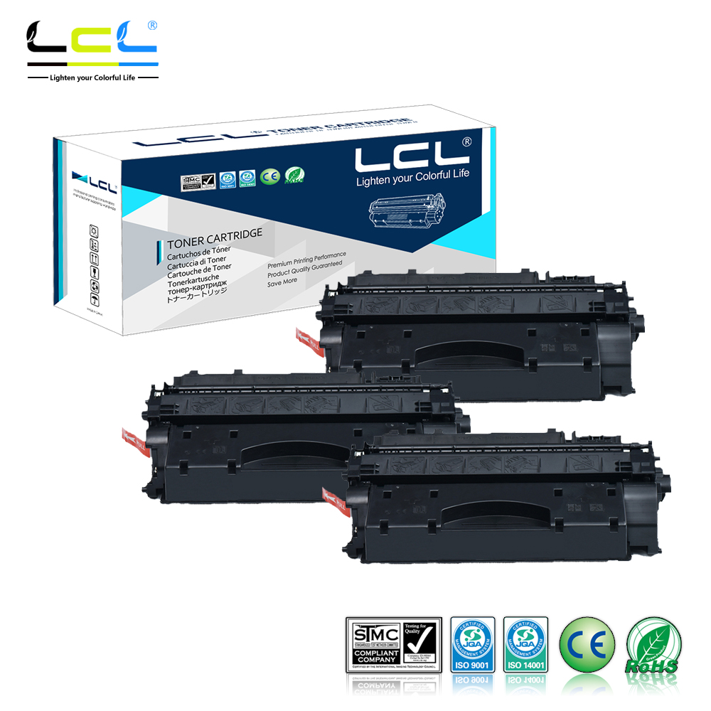 LCL 719H CRG719H 6500 Pages (3-Pack Black) Toner Cartridge Compatible for Canon LBP6300dn/LBP6650dn/MF5870dn cs s1710 bk compatible toner cartridge for samsung ml1710d3 ml1710 ml1410 ml1500 ml1510 ml1740 ml1750 3k pages free fedex