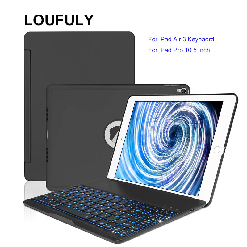 Loufuly For iPad Air 3 Keyboard Bluetooth 4.0 For iPad Pro 10.5 Case Keyboard Backlit Auto Wake Sleep A2123 A2153 DropshippingLoufuly For iPad Air 3 Keyboard Bluetooth 4.0 For iPad Pro 10.5 Case Keyboard Backlit Auto Wake Sleep A2123 A2153 Dropshipping