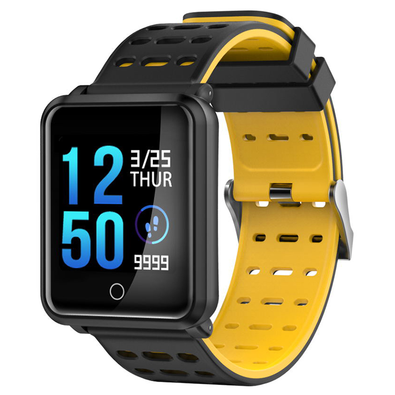 MOCRUX N88 Smart Watch Bluetooth IP68 Waterproof Heart Rate Blood Pressure Monitor Smartwatch Bracelet For Android