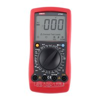 UNIT Digital Multimeter DC/AC Voltage Current Meter Handheld Ammeter Ohm Diode Capacitance Tester 1999 Counts Multitester UT58C