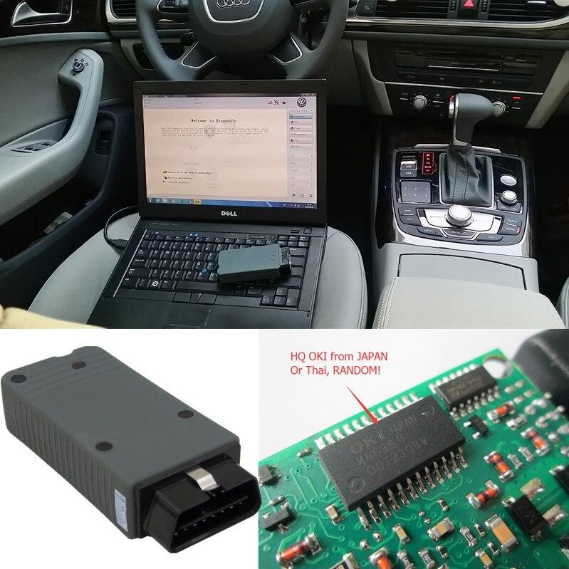 ФОТО Full Chip VAS 5054A ODIS 3.0.3 with OKI Vas5054 Bluetooth OBD2 Scanner FOR VAG Diagnostic Tool