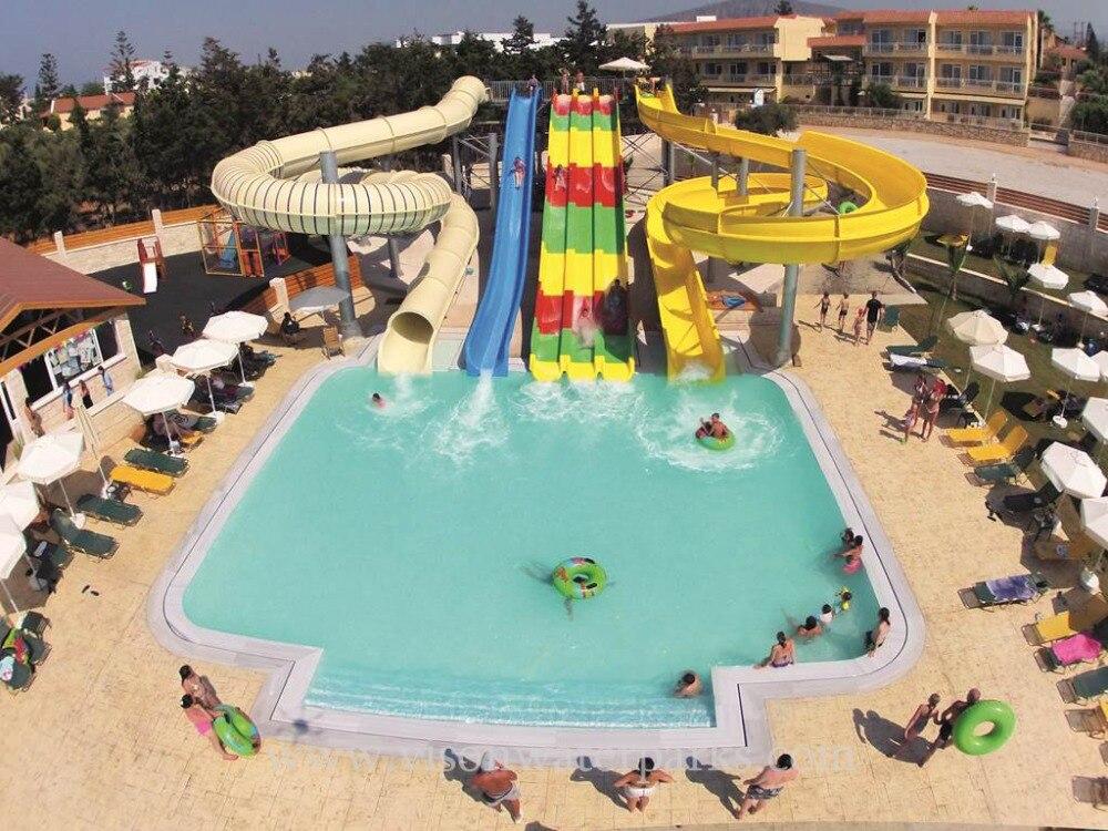 Fiberglass Slide Water Theme Park Cost Swimming Inground Pool Slide Slides Aliexpress