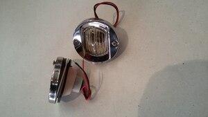 Image 5 - Rotonda In Acciaio Inossidabile 12 V 24 V Barca Marino Coda di Luce 8 W lampada Al Tungsteno Lampada di Navigazione Impermeabile