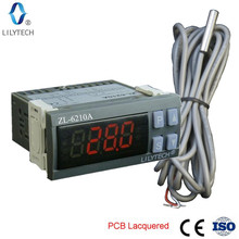 ZL 6210A, Digital, Temperature Controller, Thermostat, Economical Cold Storage Controller, Lilytech