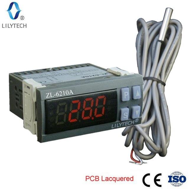 ZL 6210A, Digital, controlador de temperatura, termostato, controlador de almacenamiento en frío económico, Lilytech