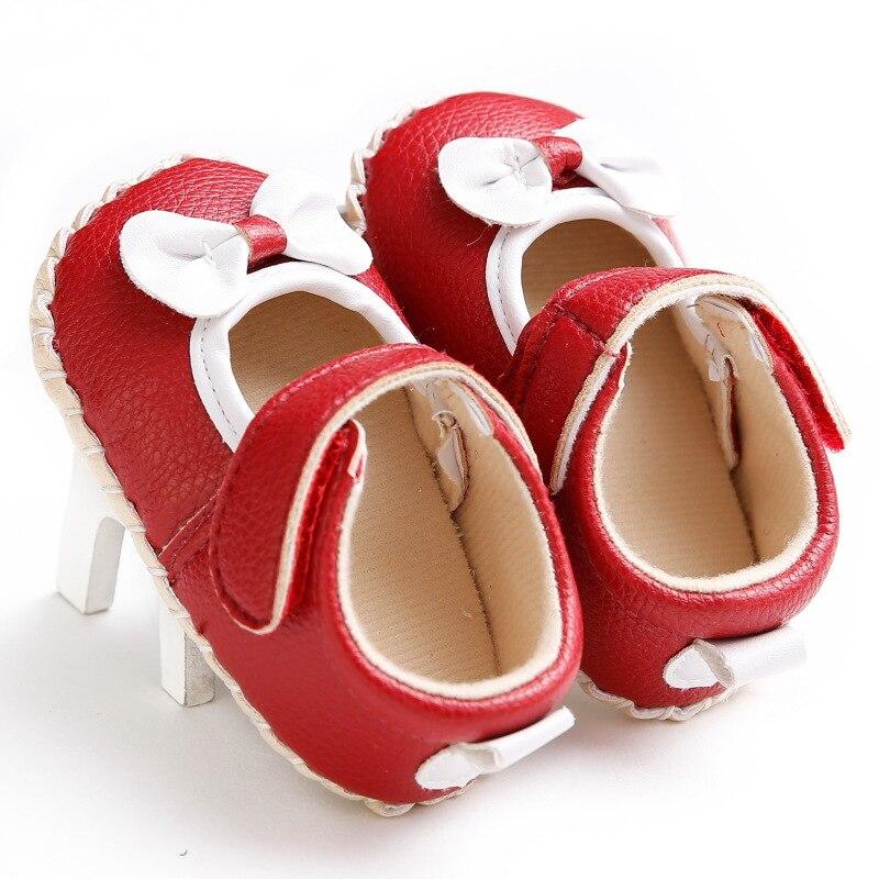 Обувь принцессы на резиновой подошве для маленьких девочек 0-1 лет нескользящая обувь для малышей