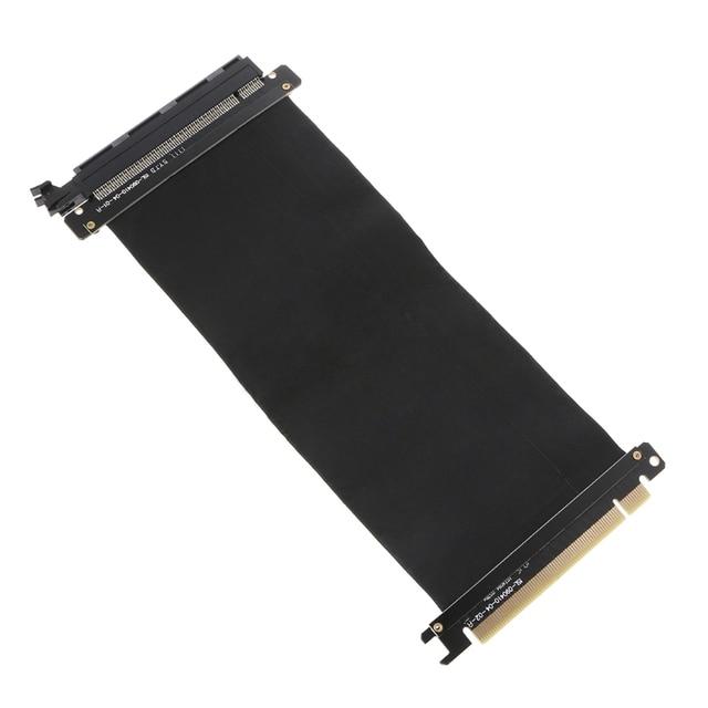 Pcie 16X к 16X PCI Express 16x гибкий кабель карты расширения порты и разъёмы адаптер Высокая скорость Riser Card