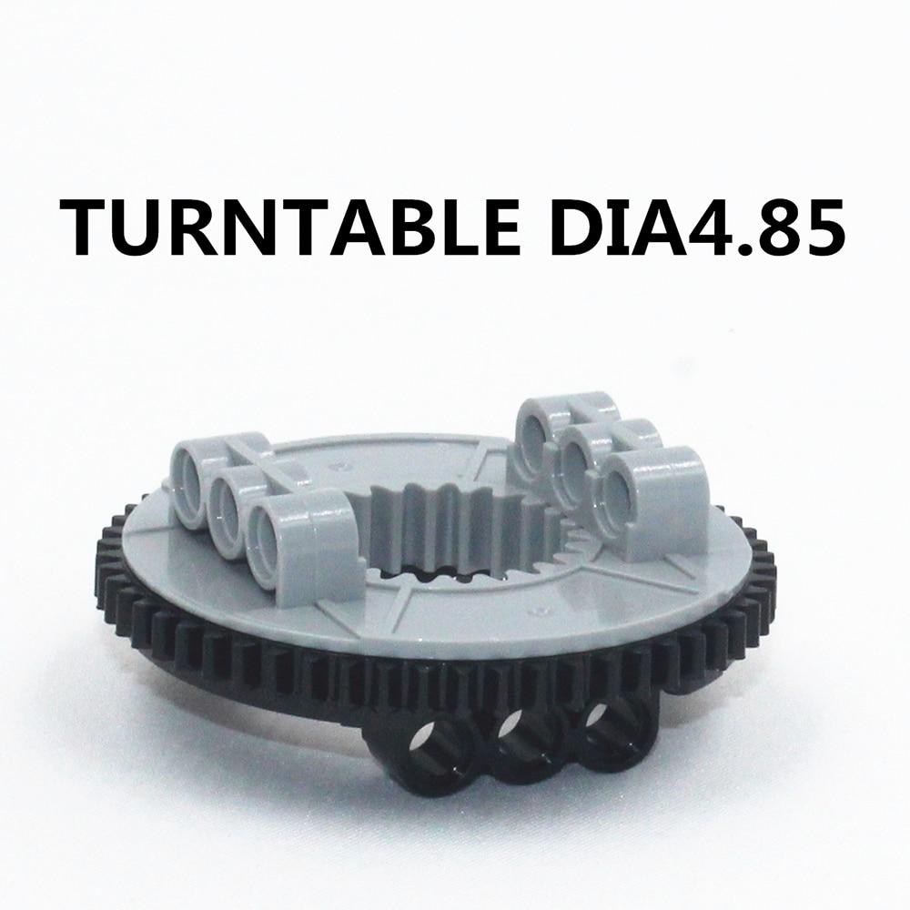 Building Blocks Bulk Technic Parts 2pcs lot TURNTABLE DIA4 85 compatible with lego for kids boys