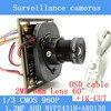 1 3MP AHD 1200TVL Mini Night Vision Surveillance Camera 1 3 CMOS 6mm Lens CCTV 960P