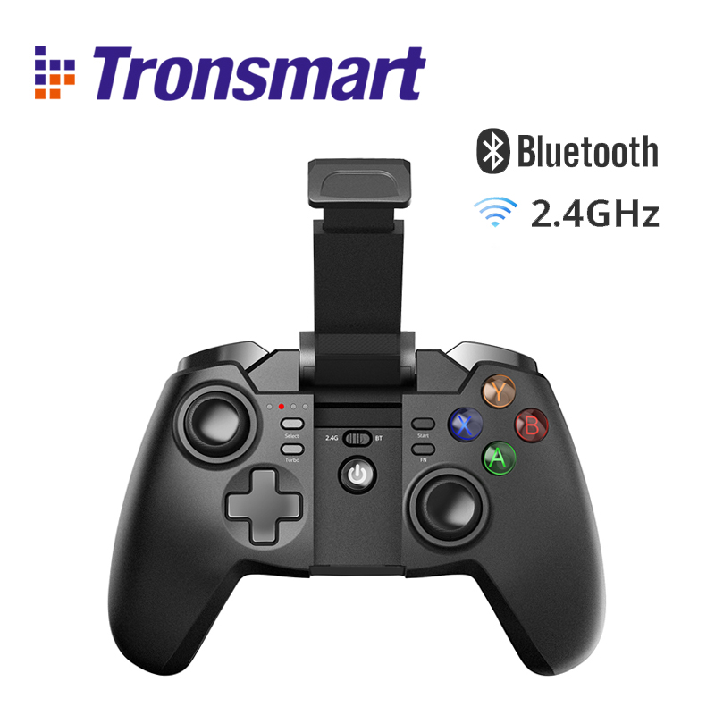 Tronsmart Mars G02 Wireless Game Controller with Bluetooth & 2.4GHz for PlayStation 3 PS3 Gamepad Joystick for Android WindowsTronsmart Mars G02 Wireless Game Controller with Bluetooth & 2.4GHz for PlayStation 3 PS3 Gamepad Joystick for Android Windows