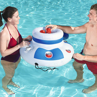 Floating Drink Holder 2019 Newest Chill Cooler Beverage Float Inflatable Swimming Pool Accessories Water Party Props