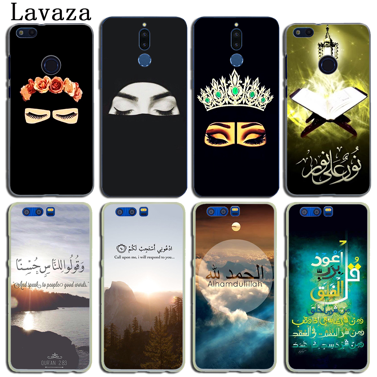 Arabic Quran Islamic Hard Phone Case For Huawei Y5 Y6 Y7 Y9 Prime 2017 2018 Mate 10 20 Lite Pro Nova 2i 3 3i Lite Phone Bags & Cases Cellphones & Telecommunications