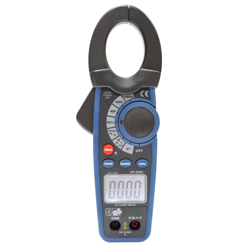digital clamp meter  Digital clip-on table Current test range 1000 A DT-3341 clip on ammeter digital clamp meter current voltage resistance test clamp meter