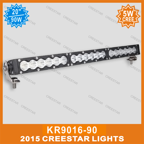 AMBER WHITE LED OFFROAD BAR GDCREESTAR Selling 20inch 12V led offroad bar KR9016-90 90W 12V led driving work bar lights амортизаторы bilstein в6 offroad
