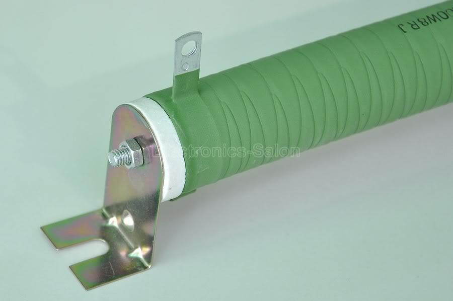 cerâmico Resistor não indutivo, Amplificador de áudio carga fantasma, 100 W