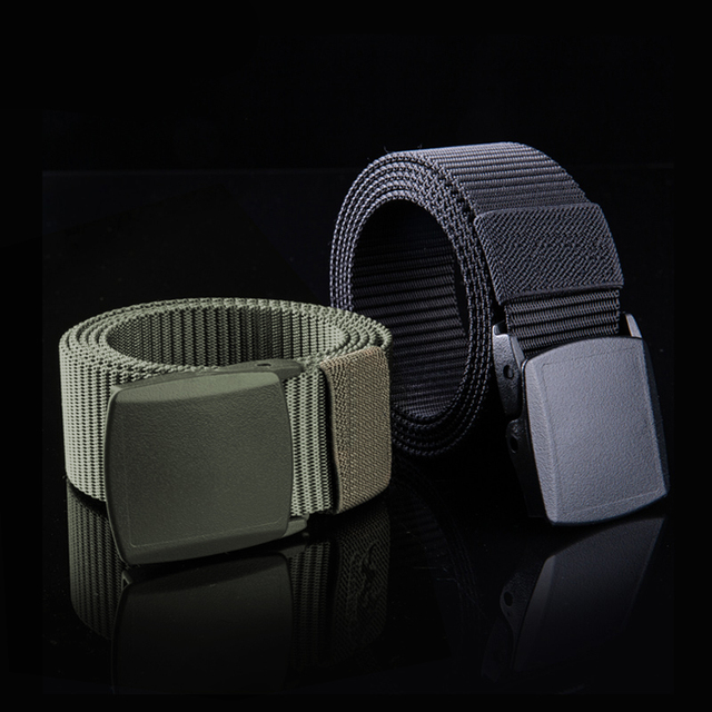 FREE SOLDIER outdoor multi-functional tactical belt breathable wear canvas belt casual special training nylon belt 3