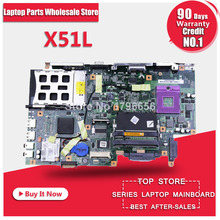 For ASUS Laptop Motherboard X51L X58L X571LE REV:2.1 Mainboard 08G2005XB21Q Fully tested works well