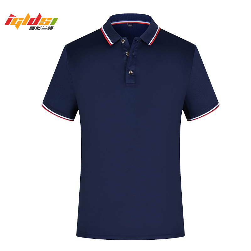 Men's Polo Shirts Solid Short Sleeve Slim Breathable Shirt 2019 Summer Cotton Brand Men's Polo Shirts Male Tops Plus Size S-3XL