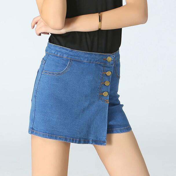 c3325fcda61d 2017 Hot Sell Summer Fashion Women Denim Skirts Jean Mini Skirt Sexy Girls  Cowboy Package Hip High Waist Short Pencil Skirt 8115